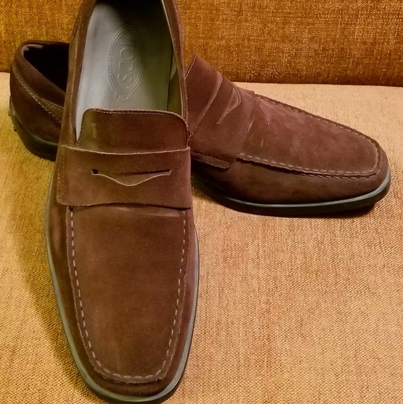 02bf6a222d Tod's Shoes | Tods Suede Gommino Drivers Size 13 | Poshmark